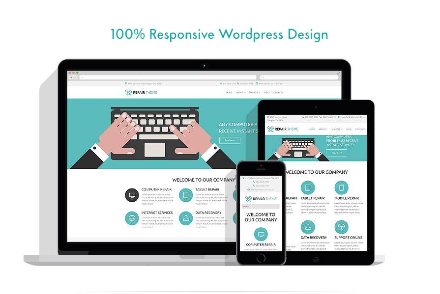 Wordpress Web Design, Custom Wordpress Web Design,, Responsive Wordpress Web Design